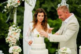 Letní svatba v penzionu Zikmundov pod širým nebem