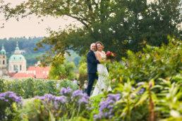 Svatba ve Villa Richter Oli a Petra na konci babího léta