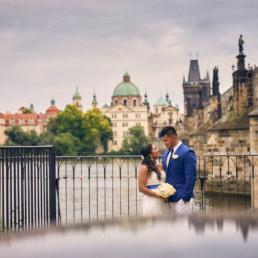 Svatba u Karlova mostu