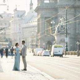 Svatba Evy a Štěpána ve Villa Richter pod Pražským hradem