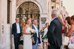 Svatba v Benátkách Karolíny a Mirka