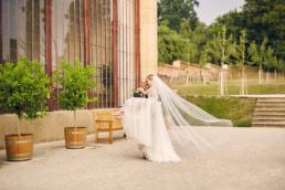 Svatební fotky z letní podvečerní svatby